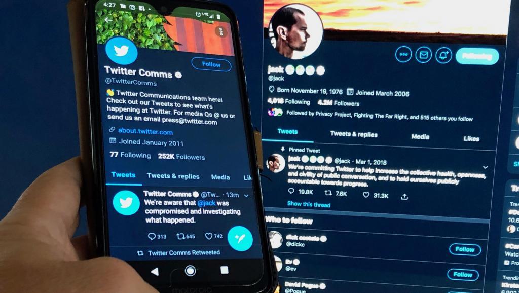 Twitter : Le compte du patron Jack Dorsey piraté