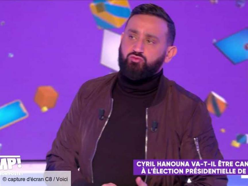 L'animateur bientôt candidat à l'élection présidentielle — Cyril Hanouna
