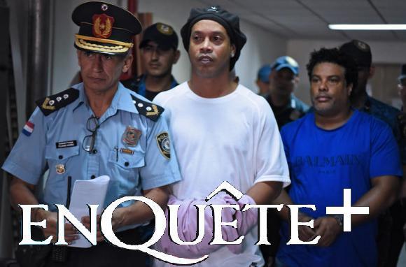 Ronaldinho impliqué dans une affaire de blanchiment d'argent